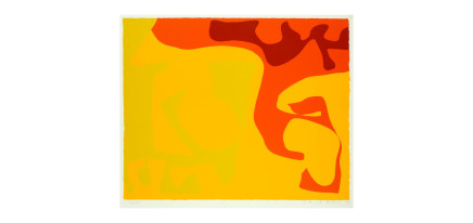 Patrick Heron, Small Yellow : January 1973, 1973
