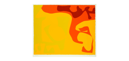 Patrick Heron CBE, Small Yellow : January 1973, 1973