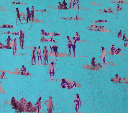Shifting Turquoise II, 2017