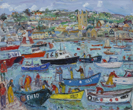 Harbour Life, St Ives Summer