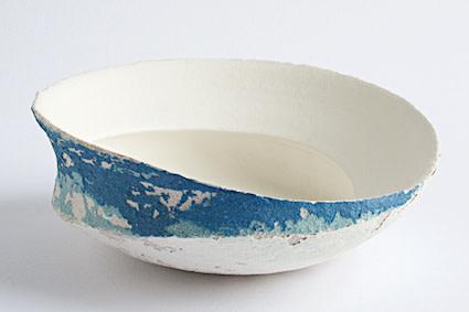 Clare Conrad, Swirl Dish, 2019