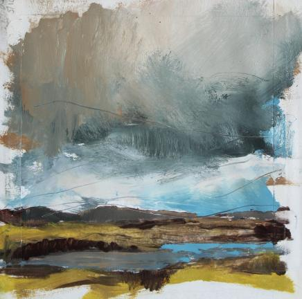 Sara Dudman RWA, 7 Weather Systems in One Day (British Isles Coastal Extremeties Study 2), 2018