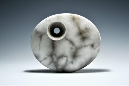 Antonia Salmon, Medium Marbled Oval, 2019