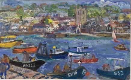 Linda Weir, Intense colours, St Ives Summer