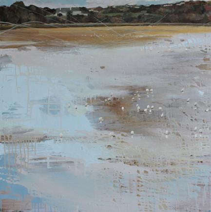 Sara Dudman RWA, Herring Gulls (Hayle Estuary) 2, 2020