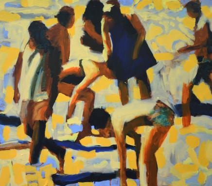 Nick Bodimeade, Blue Dress Matrix, 2020