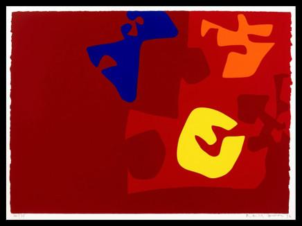 Patrick Heron CBE, Untitled Composition from The Marc Rothko Memorial Portfolio, 1972