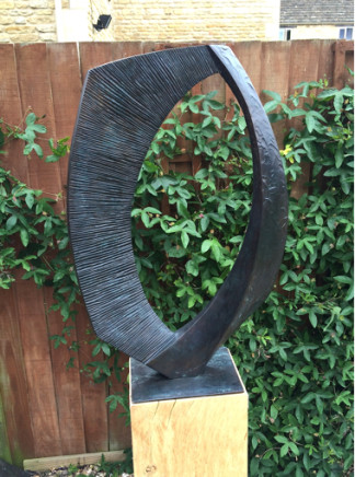 Robert Fogell, Ellipse Large Bronze, 2014