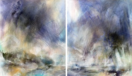 Hover Diptych, 2015