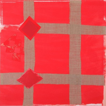 Sandra Blow RA, Red Melange, 2006