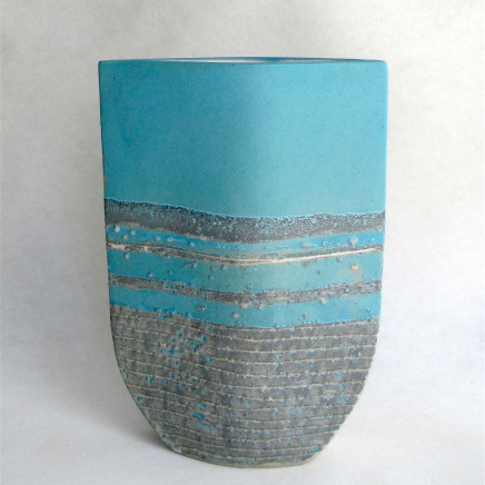Sarah Perry, Turquoise Totem Ellipse, 2019
