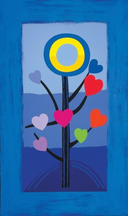 Sir Terry Frost RA, Blue Love Tree, 2003