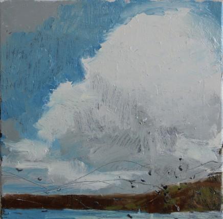 Sara Dudman RWA, Herring Gulls (Sennen Cove) Study 1, 2018