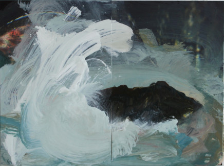 Sara Dudman RWA, Walking Past Sea Rock 3 (Kynance Cove) study 1, 2019