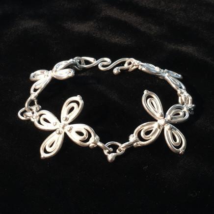 Helen Feiler, Silver 'Flower' Bracelet, 2019