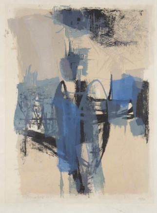 Trevor Bell RA, Untitled, 1956