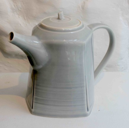 Carina Ciscato, Pale Grey Teapot, 2018