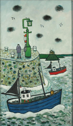 Joan Gilchrest, Mousehole Pier