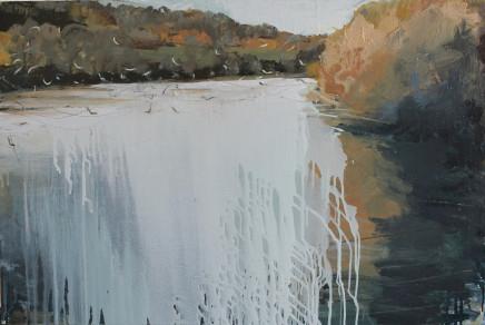 Sara Dudman RWA, Herring Gulls (Helford River), 2020