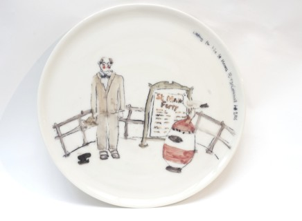 Helen Beard, St Mawes Plate, 2012
