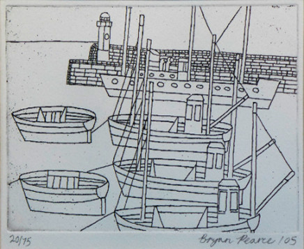 Bryan Pearce, St Ives Harbour, 2005