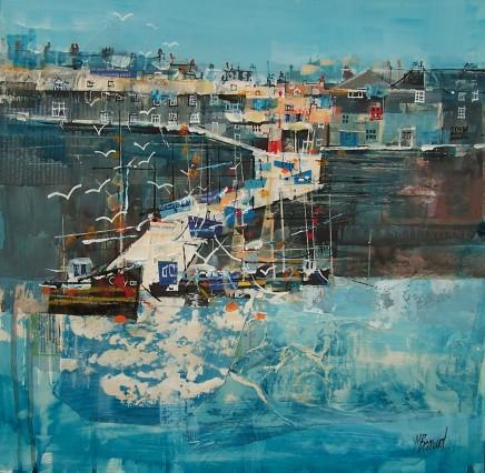 Mike Bernard RI, Harbour Slipway, Cornwall, 2018