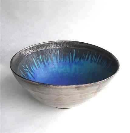 Silver Lustred 'Blue Pool' Bowl, 2017