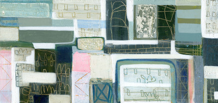 Anne Davies, St Ives Houses, 2017