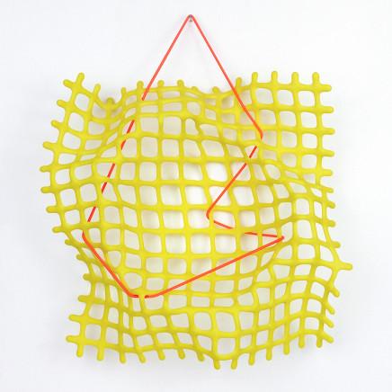 Lisa Pettibone, Yellow Map, 2020