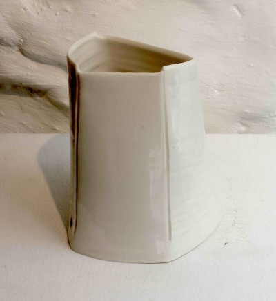 Carina Ciscato, Small White Vase, 2018