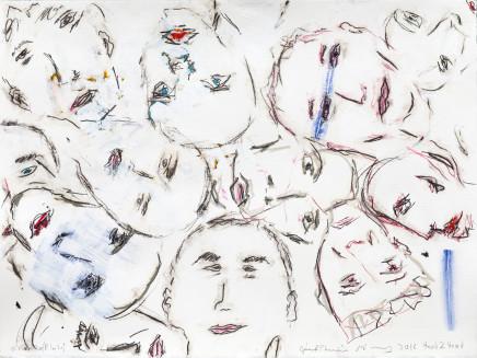 Gérard Charrière / Pierre Gottfried Imhof, Head 2 Head no. 2, 2016
