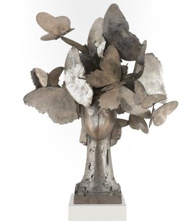 Laurel II, 2013  Manolo Valdés  Aluminium  30.71 x 25.59 x 19.69 inches (78 x 65 x 50 cm)  Edition 6/9