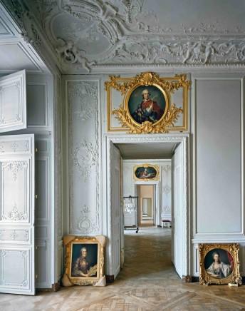 Grand cabinet de Madame Victoire, (54) CCE.01.052, Corps Central - R.d.C, Chateau de Versailles, Versailles, France, 1986  Robert Polidori  Fujicolor Crystal Archive print  60 x 50 inches (152.4 x 127 cm)  Edition 1/10