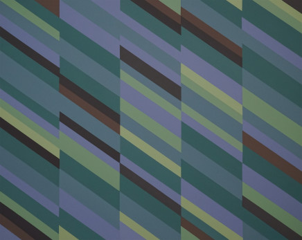 Checkered Past, 2017  James Little  Raw pigment on canvas  33 1/2 x 41 inches  85.1 x 104.1 cm