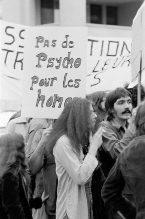 Sunil Gupta, Gay Rights March, 1975