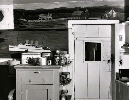 Gabor Szilasi, Kitchen at Mme Bouchard's, Ile-aux-Coudres, 1970