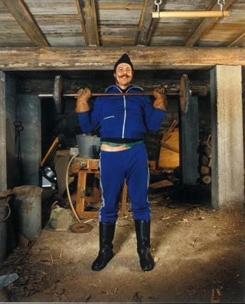 Pekka Turunen, Eero Kurvinen, Naarva Ilomantsi [A Strong Man], 1987
