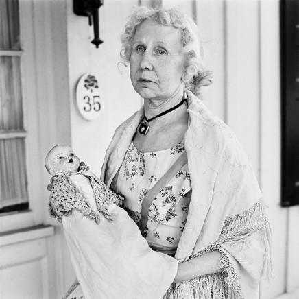 Rosalind Fox Solomon, Jonesboro, Tennessee [Lorena Lyle, in her Daugther of the Confederacy Dress], 1977