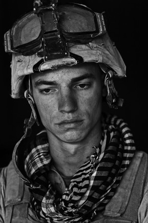 Louie Palu, U.S. Marine Lance Cpl. Marine Joshua Wycka age 21, Garmsir District, Helmand Province, Afghanistan, Forward Operating Base Apache North. Joshua is from Plant City, Florida and has done a tour in Iraq in addition to this tour., 2008