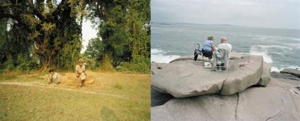 Sunil Gupta, Mundia Pamar, Uttar Pradesh / Bar Harbor, Maine, 2000