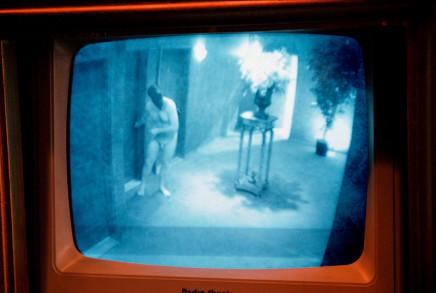 Susan Meiselas, Pandora's Box, Security TV IV, New York City, 1995