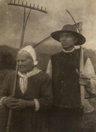 Minna Keene, Harvesters, circa 1905