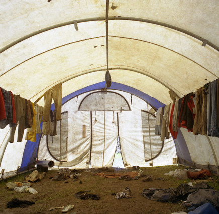 Sarah Anne Johnson, Drying Tent, 2003