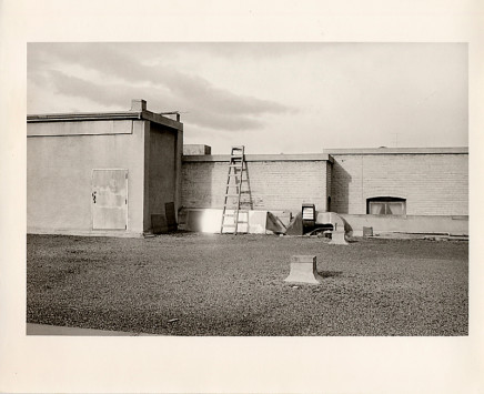 Douglas Clark, Untitled [roof & ladder], circa 1980