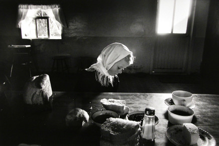 Larry Towell, Helen Dyck, La Batea Colony, Zacatecas, Mexico, 1992