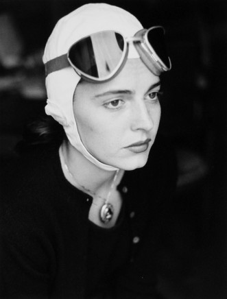 Ruth Orkin, Jinx in Goggles, Florence, Italy, 1951