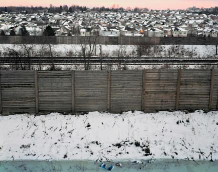 Scott Conarroe, Burbs Fence, London, 2006