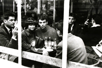George S. Zimbel, Couple with Coke, Paris, 1952