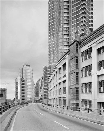 Dario Zini, Gardiner Expy at York St. - View East, 2006