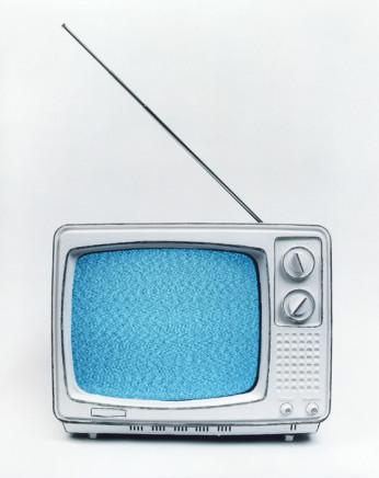 Cynthia Greig, Representation No. 22 (black and white television), 2002